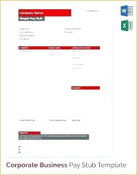 Editable Create A Fake Doctors Note Modern Pay Stub Template