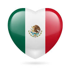colors of the mexican flag.  Colors Heart With Mexican Flag Colors I Love Mexico Stock Vector  26918446 For Colors Of The Flag