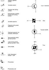 schematic symbols chart the alphabet of electronics auto elect Electrical Schematic Symbols electronic circuit symbols