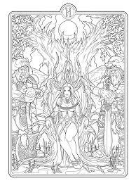 Helheim Goddess Lines By Deviantashtareth On