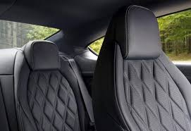Quilted Leather Car Seat Inserts | Doyles In Car & Black leather car seat special effects quilted inserts Adamdwight.com