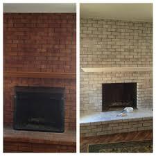 How To Whitewash Brick Tips For Whitewashing Brick Start With 50 50 Paint Water Use