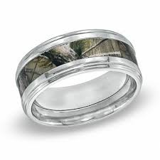 men s 9 0mm realtree ap camouflage inlay fort fit anium wedding band size 10