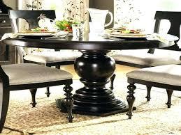 black round kitchen table set round black dining table simple yet classy round dining table design