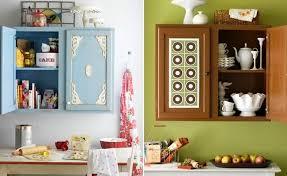 Creative diy easy kitchen makeovers Remodel Diy Enthusiasts Diy Kitchen Cabinet Ideas 10 Easy Cabinet Door Makeovers