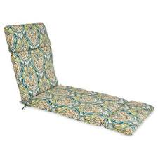 N Outdoor Chaise Lounge Cushion In Avaco Blue