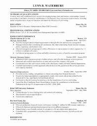 Resume Format For Financial Analyst Fresh Sample Resume For
