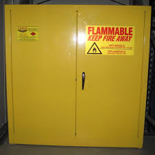 metal storage cabinet yellow. Flammable Storage Cabinet Metal Yellow