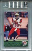 2000 Aurora #84 Tom Brady Rookie Card