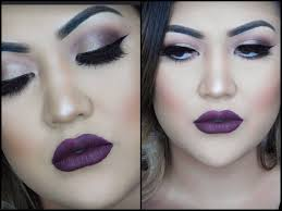 night out makeup tutorial dramatic eyes bold lips you