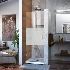 unidoor 23 to 30 hinged shower door