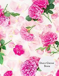 Daily Chore Book Daily Weekly Chore Chart Dairy Chore