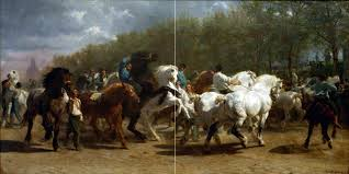Tile Backsplash Photos Amazing The Horse Fair By R Bonheur Kitchen Wall Backsplash Tile Mural