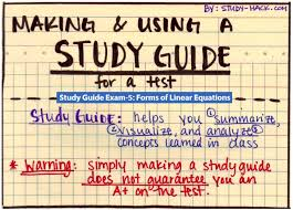 study guide exam 5 forms of linear equations