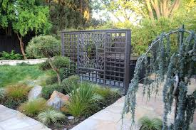 outdoor japanese soaking tub. sacramento outdoor japanese soaking tub with asian fencing and gates landscape metal divider stone pathway