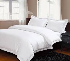white duvet cover set plain