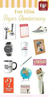 paper anniversary gift ideas for him best of gifts diy
