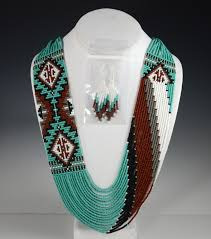 navajo bead designs. Brilliant Navajo Navajo Beaded Necklace Rena Charles Sedona Indian Jewelry Native  American Oak Creek Canyon Throughout Bead Designs D