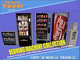 Vending Machine Mod Inspiration Second Life Marketplace Tesla Tech Vending Machine Collection