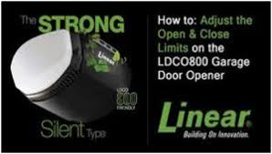 linear garage doorGarage Door Openers A Short History  Part III Technology That