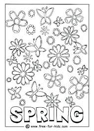 Spring Break Coloring Pages Coloring Pages Spring Break Happy Spring