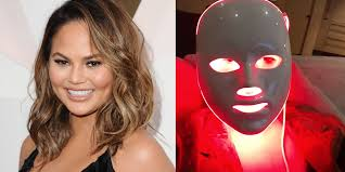 Anti Aging Light Therapy At Home Chrissy Teigen Uses A Led Light Therapy Mask For Better Skin