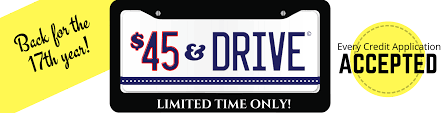 45 and drive