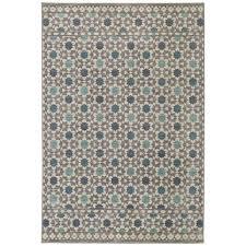 mohawk home lattice tiles grey 8 ft x 10 ft area rug