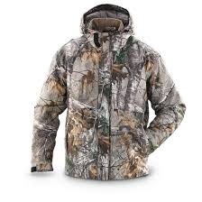 Guide Gear Poly Tricot Hunting Jacket Realtree Xtra Camo
