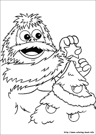 Small Picture Abominable Snowman Coloring Pages GetColoringPagescom