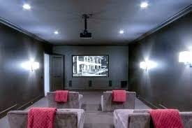 Home theater step lighting Rope Home Theater Sconces Step Lighting Room Wall Media Thinking Red Theate Geowulf Cinema Room Theater Sconces Geowulf