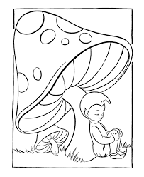 pixie cute mushroom coloring page printable pixie cute mushroom coloring pixie cute mushroom fantasy coloring pages
