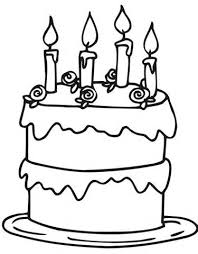 Small Picture Colorin Cake BirthdayCakePrintable Coloring Pages Free Download