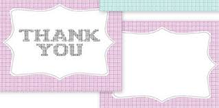 free thank you notes templates 25 beautiful printable thank you card templates xdesigns