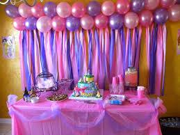 disney princess birthday cake table design of diy birthday party ideas