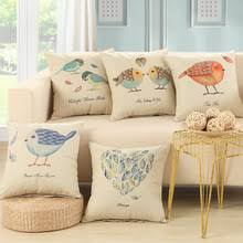 cheap office sofa. exellent office bz003 birds cushions without insert american vintage lucky design sofa  decorative throw pillow office cuscino on cheap office sofa