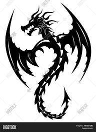 Tattoo Tribal Dragon Vector Photo Free Trial Bigstock