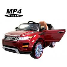 <b>Электромобиль Range Rover</b> Luxury Red MP4 12V - SX118-S ...
