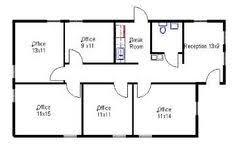 small office floor plan. Modular Office · Layout Small Floor Plan