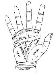 Hindi Hast Rekha Chitra Indian Palmistry Indian Palm