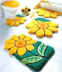 flower bath rug bathroom rug sets elegant 5 piece bathroom rug sets kids cool colorful sun flowers bath rug red flower bath rug
