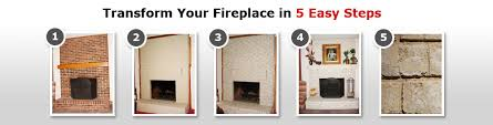 image of agreeable brick fireplace paint makeover ideas