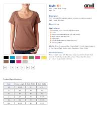 Anvil T Shirts Size Chart Anvil T Shirt Size Chart Rldm