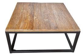 arhaus modern palmer coffee table mango