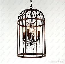 birdcage pendant light chandelier s copper birdcage pendant light chandelier