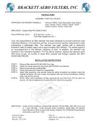 Brackett Aero Filters Inc Manualzz Com