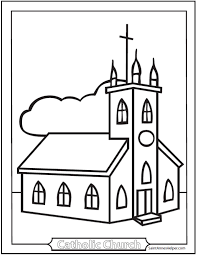 Religion Catholic Coloring Pages Print Coloring