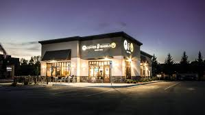 Bagels located at 2839 fish hatchery road, fitchburg, wi proudly serves gourmet bagels baked fresh in store every day and delicious egg sandwiches, signature lunch sandwiches, piping hot coffee, cookies, muffins, juices, smoothies and more. Caribou Coffee Einstein Bagels Visit Grand Forks