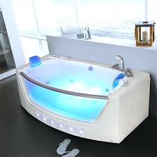 whirlpool bath shower spa straight 1 person bathtub jacuzzi with tub combo 2