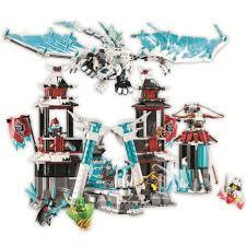 Mua Đồ chơi lắp ráp lego minifigures ninjago season 11 lâu đài hoàng đế  băng giá và samurai ninja lloyd, Akita Lari 11333. chỉ 790.000₫